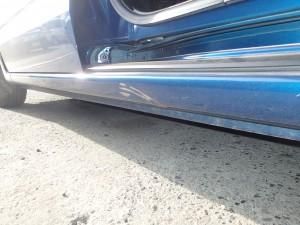 N-BOX 左サイドステップ 板金・修理・塗装